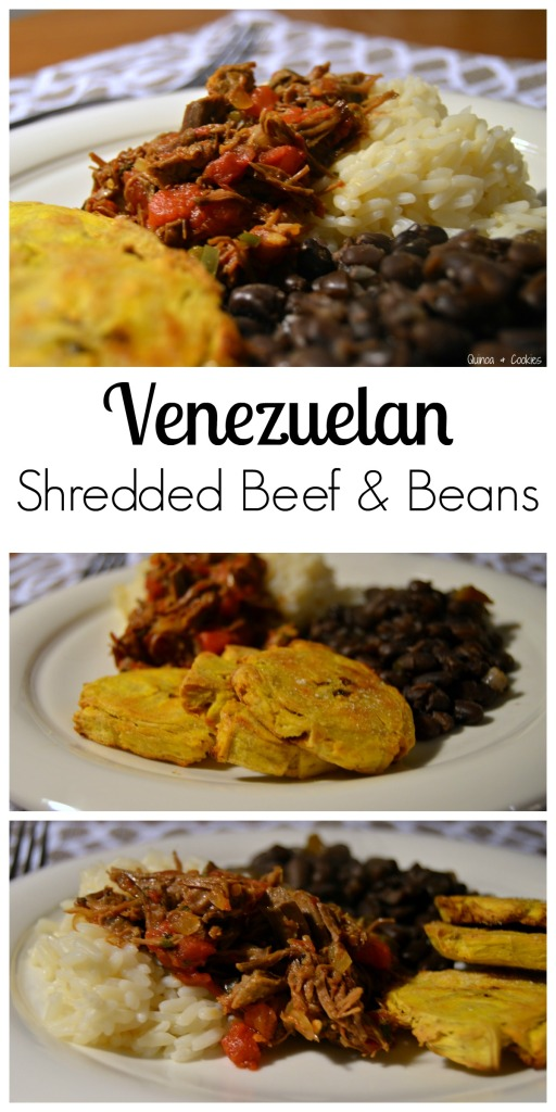 V is for Venezuela: Pabellon Criollo (Shredded Beef ...